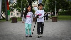 White cane: symbol of social life of the blind