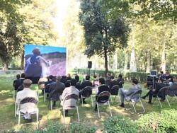 Abbas Kiarostami celebrated in a multimedia event at the Italian Embassy in Tehran