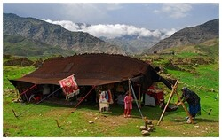Nomadic art of giant tents revived in Kohgiluyeh and Boyer-Ahmad