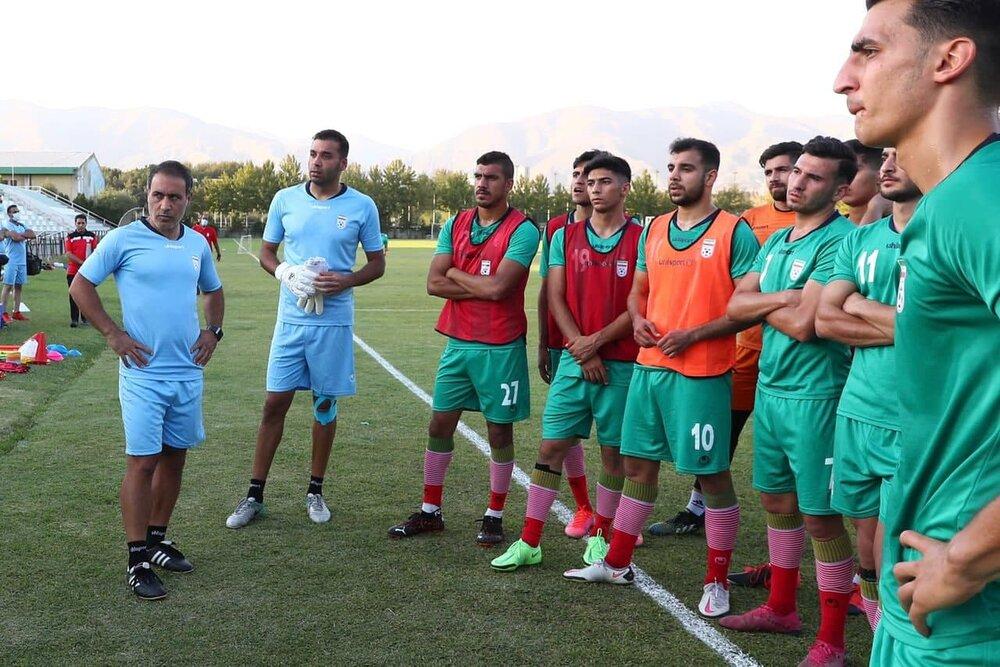 Mahdavikia announces Iran's 25-man team for 2022 AFC U23 Asian Cup qualification