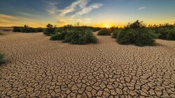 Climate change impact on drought intensification