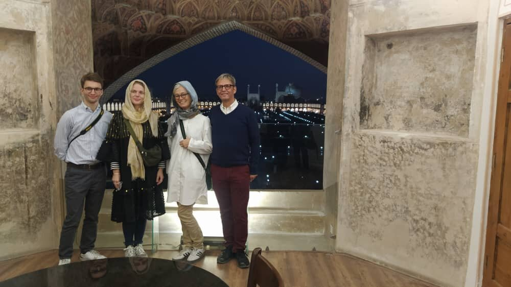Danish ambassador tells of his 'unforgettable' visit to Isfahan